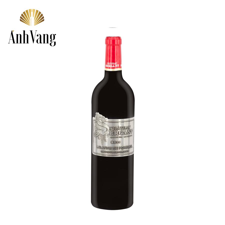 Tìm hiểu rượu vang Pháp cao cấp Chateau Sergant Merlot nổi tiếng
