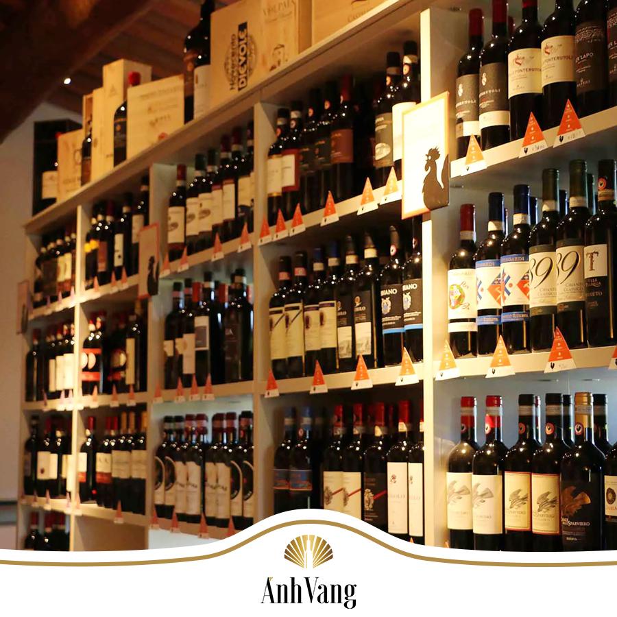3 loại rượu vang Ý cao cấp được yêu thích nhất